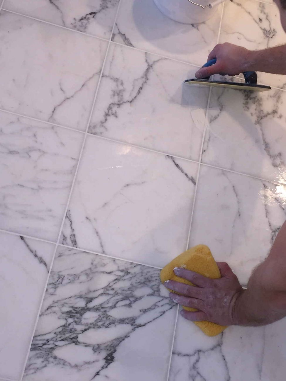 Grout Recoloring | The Grout Specialist